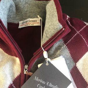 Gran Sasso Merino Cashmere Sweater 50
